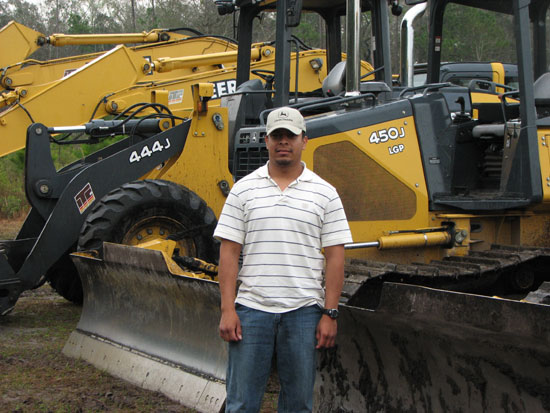Daniel Noguez | Bulldozer Operator | Heavy Equipment Operator School